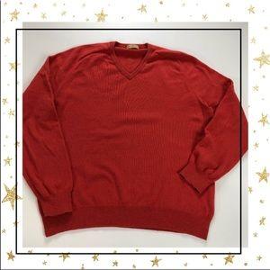 J.Crew Mens V-neck Sweater (VY24K3R)